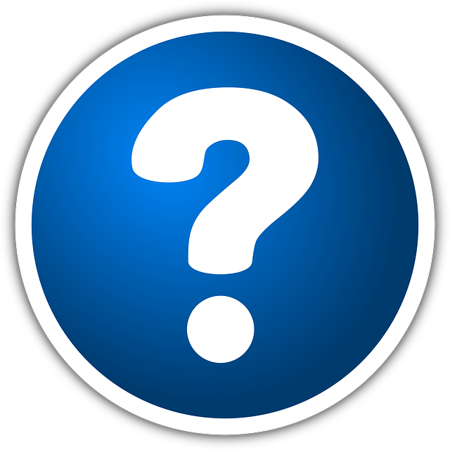 icon of question mark.
